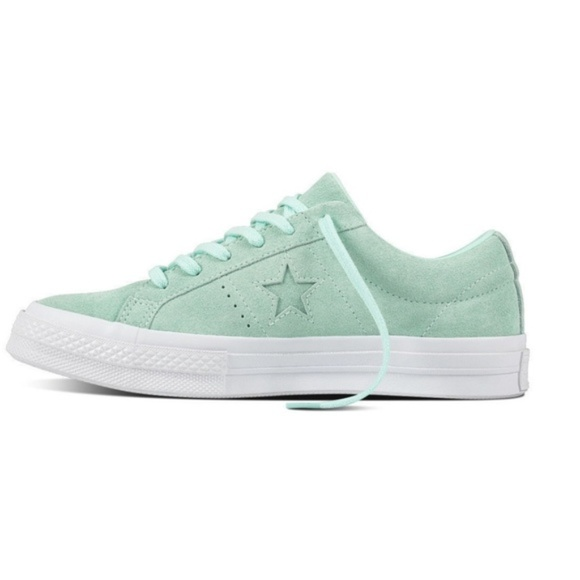 389798369ba9 Converse One Star Ox Mint Green Shoes Size 7